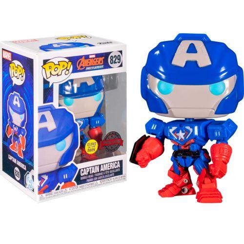 Funko POP Capitán América Mech Strike Exclusivo