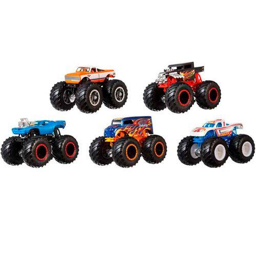 Hot Wheels Monster Truck Pack 5 Vehículos Surtido