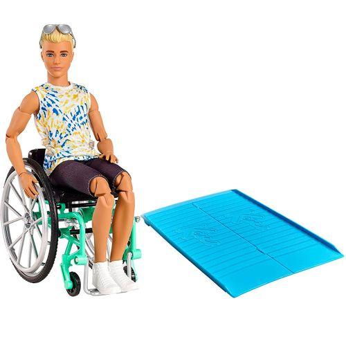 Barbie Ken Fashionista Silla Ruedas