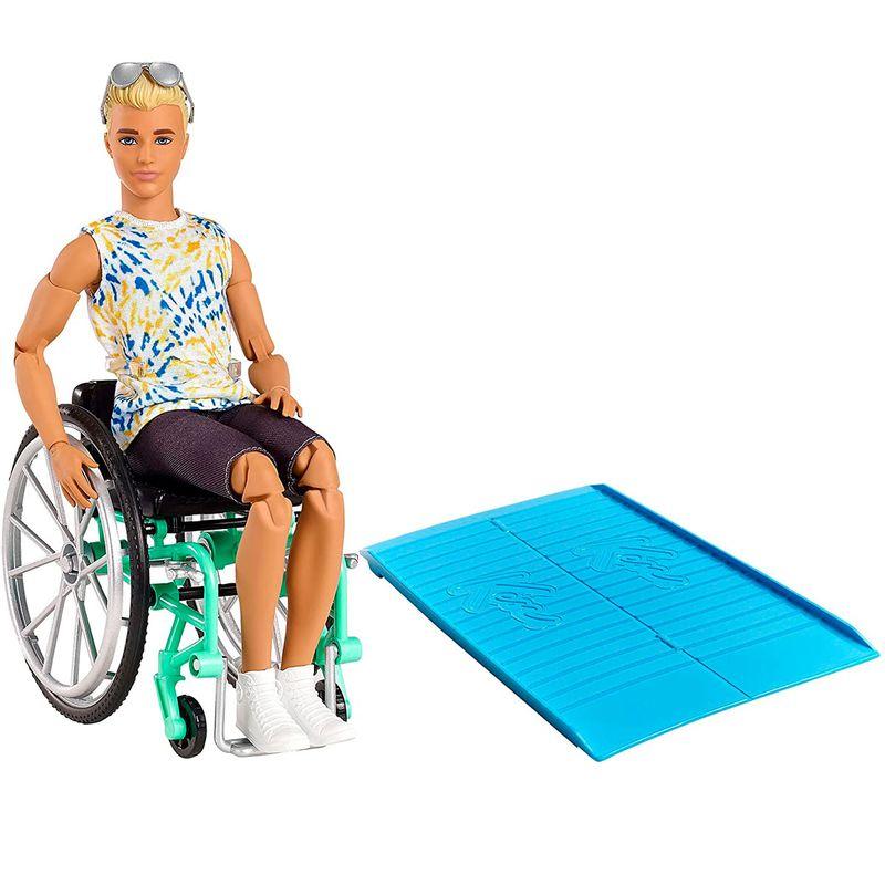 Barbie-Ken-Fashionista-Silla-Ruedas