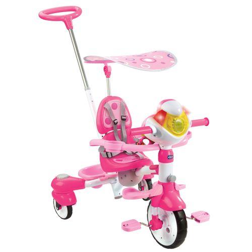 Triciclo Inteligente Evolutivo Rosa