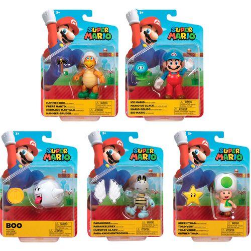 Super Mario Figura Articulada WV23 Surtida