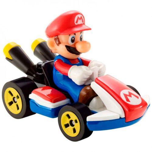 Hot Wheels Mario Kart Coche Mario