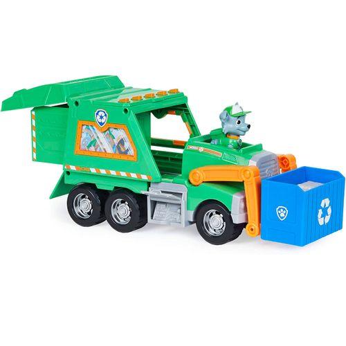 Patrulla Canina Camión Reciclaje Rocky
