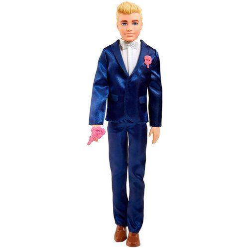 Barbie Muñeco Ken Novio con Accesorios