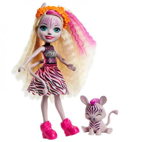 Enchantimals Zadie Zebra & Ref