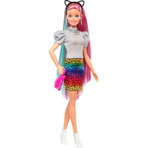 Barbie Muñeca Pelo Arcoíris