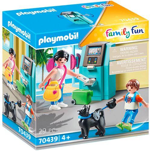 Playmobil Family Fun Turistas con Cajero