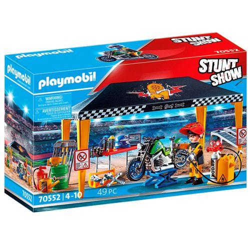 Playmobil Stuntshow Tienda Taller