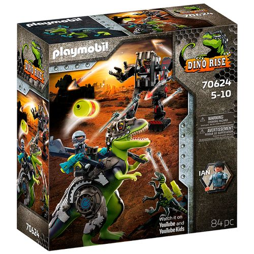 Playmobil Dino Rise T-Rex: Batalla de los Gigantes