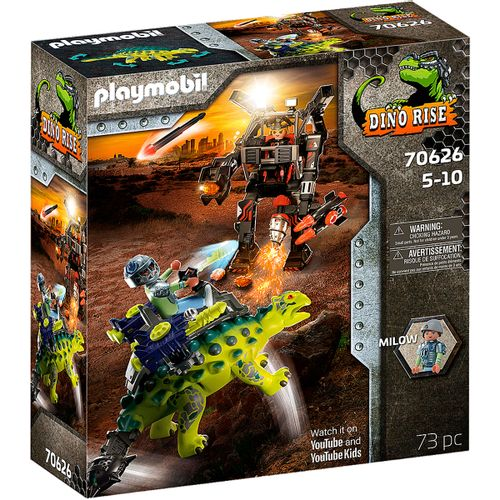 Playmobil Dino Rise Saichania: Defensa Luchador