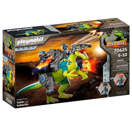 Playmobil Dino Rise Spinosaurus Poder Defensa