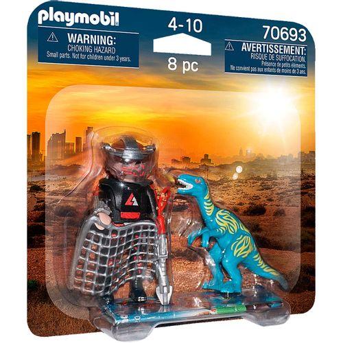 Playmobil Dino Rise Pack Velociraptor y Saqueador