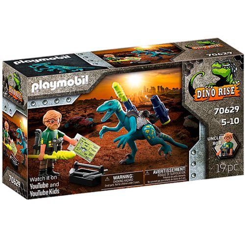 Playmobil Dino Rise Uncle Armamento para Batalla