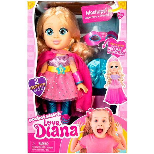 Love Diana Muñeca Princesa Superhéroe