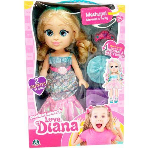 Love Diana Muñeca Party Sirena