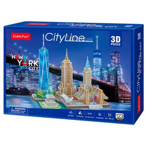 City Line Puzzle 3D Nueva York