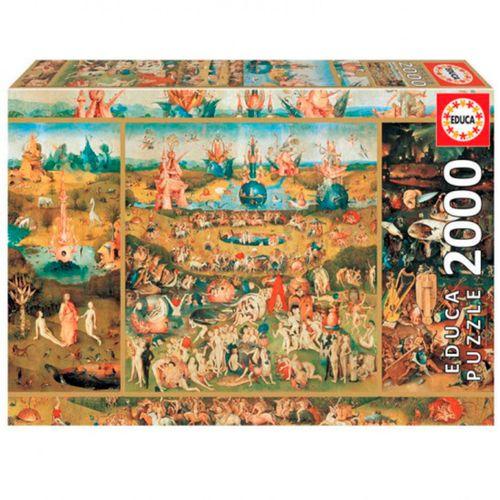 Puzzle Jardín de las Delicias 2000 Piezas