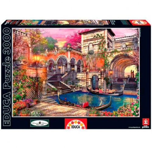 Puzzle 3000 Piezas Romance en Venecia