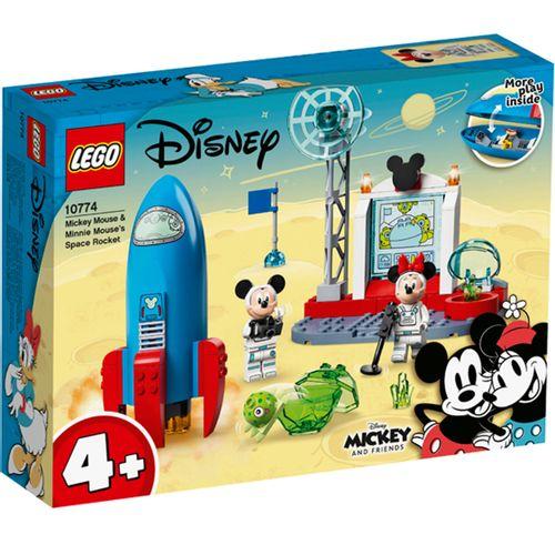 Lego Disney Cohete Espacial Mickey Mouse y Minnie