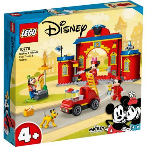 Lego Disney Parque Bomberos y Camión Mickey Mouse
