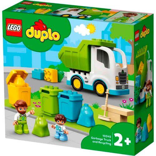 Lego Duplo Camión de Residuos y Reciclaje