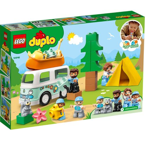 Lego Duplo Aventura en la Autocaravana Familiar