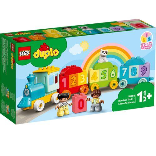 Lego Duplo Tren de los Números: Aprende a Contar