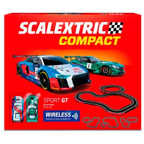 Scalextric Compact Circuito Sport GT Wireless