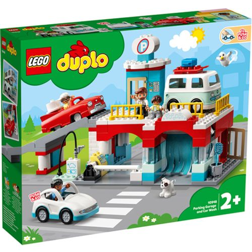Lego Duplo Aparcamiento y Autolavado