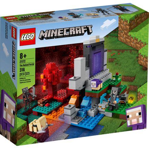 Lego Minecraft Portal en Ruinas