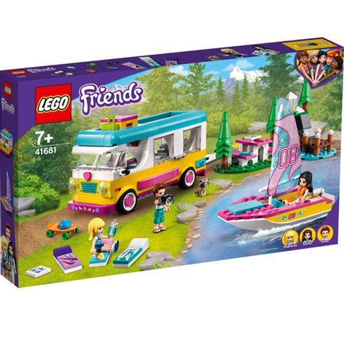 Lego Friends Bosque: Autocaravana y Barco de Vela