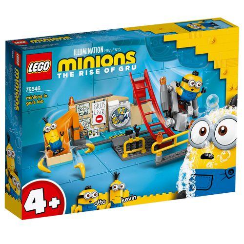 Lego Minions en el Laboratorio de Gru