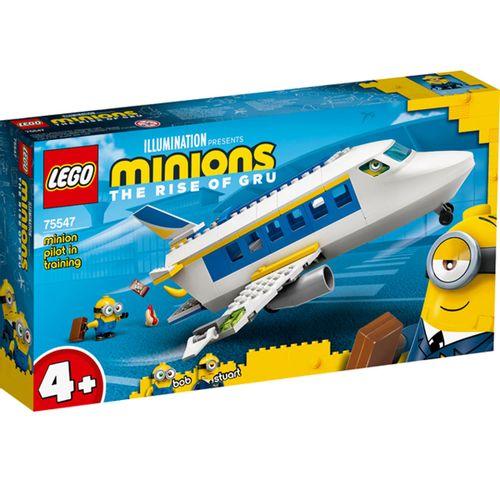Lego Minions Minion Piloto en Prácticas