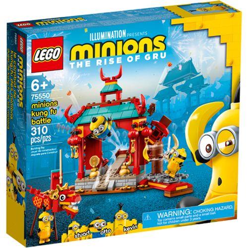 Lego Minions Duelo de Kung-fu de los Minions