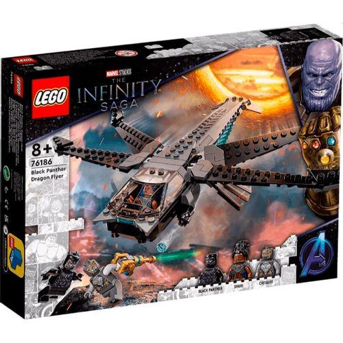 Lego Marvel Dragon Flyer de Black Panther