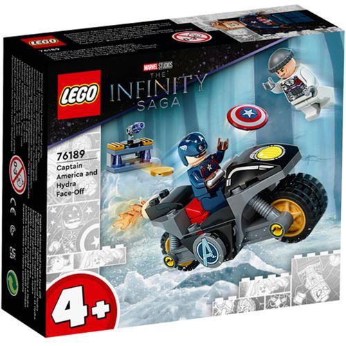 Lego Marvel Capitán América contra Hydra