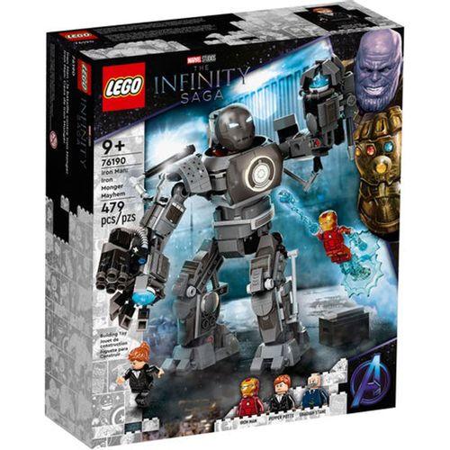 Lego Marvel Iron Man: Caos de Iron Monger