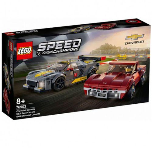 Lego Speed Champios Chevrolet C8.R & 1968