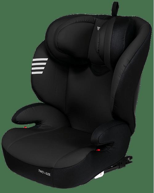 Two i-Size de 100-150 cm Black