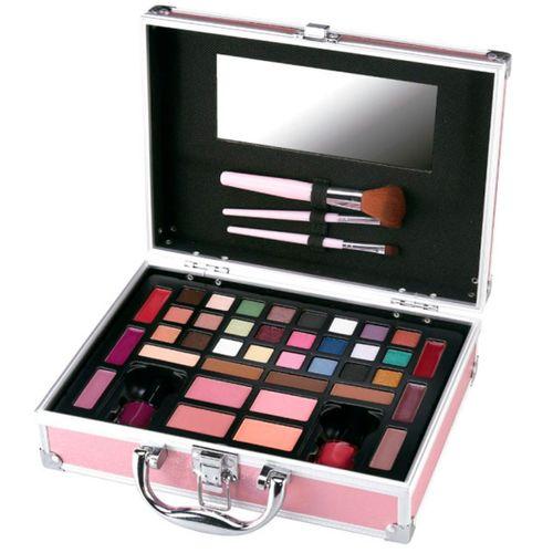Mya Travel Kit Maletín Maquillaje Rosa