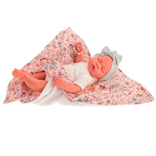 Luna Manta Flores Recién Nacida Muñeca Bebé