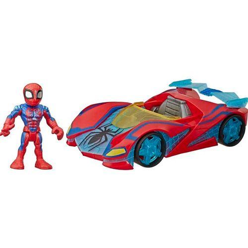Vengadores Spiderman con Vehículo
