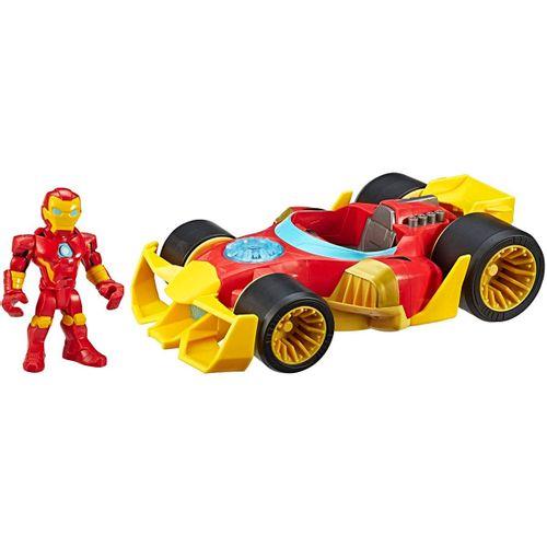 Vengadores Iron Man con Vehículo