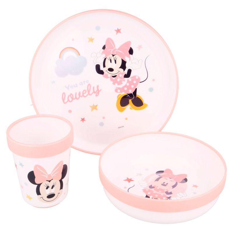 Minnie-Mouse-Vajilla-3-Piezas-Antideslizante