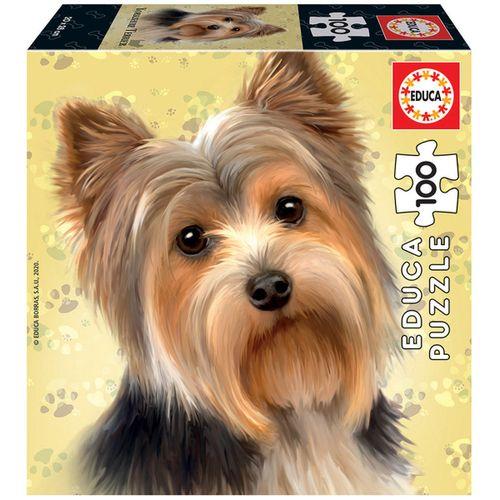 Puzzle Yorkshire Terrier 100 Piezas