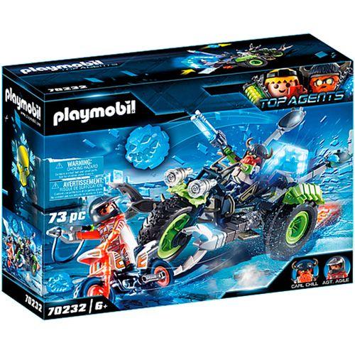 Playmobil Agents Arctic Rebels Triciclo de Hielo