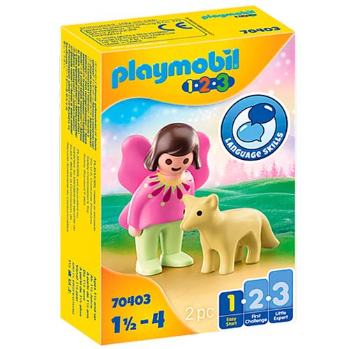 Playmobil 1.2.3 Hada con Zorro
