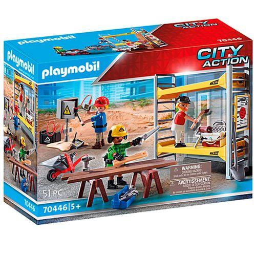 Playmobil Andamio con Obreros