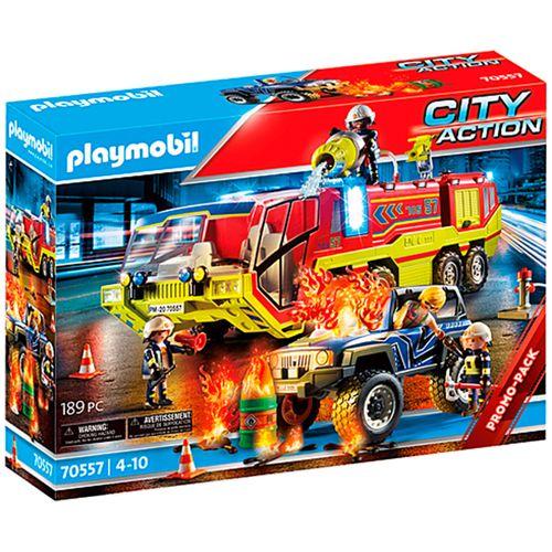 Playmobil City Action Operación Rescate Bomberos